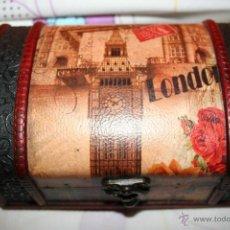 Cajas y cajitas metálicas: CAJA O COFRE O BAUL . Lote 40629576