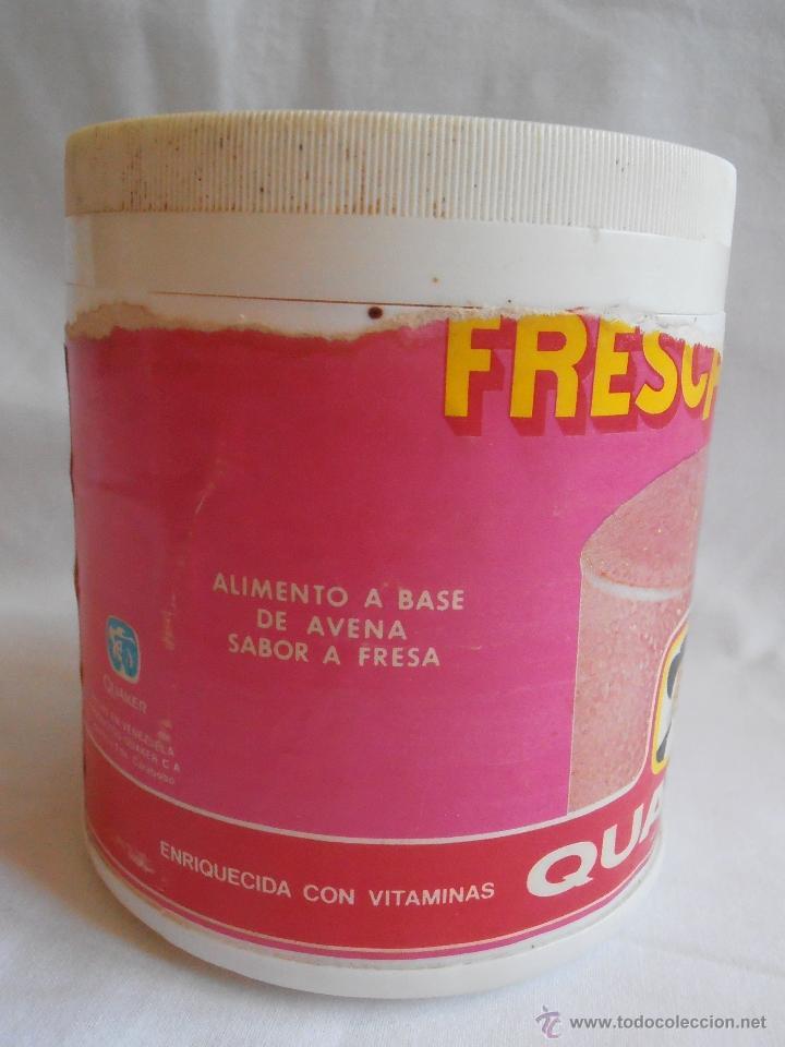 Cajas y cajitas metálicas: BOTE PLASTICO VACIO FRESCAVENA QUAKER FRESA INDUSTRIAS FESENKO VENEZUELA - Foto 5 - 40635534