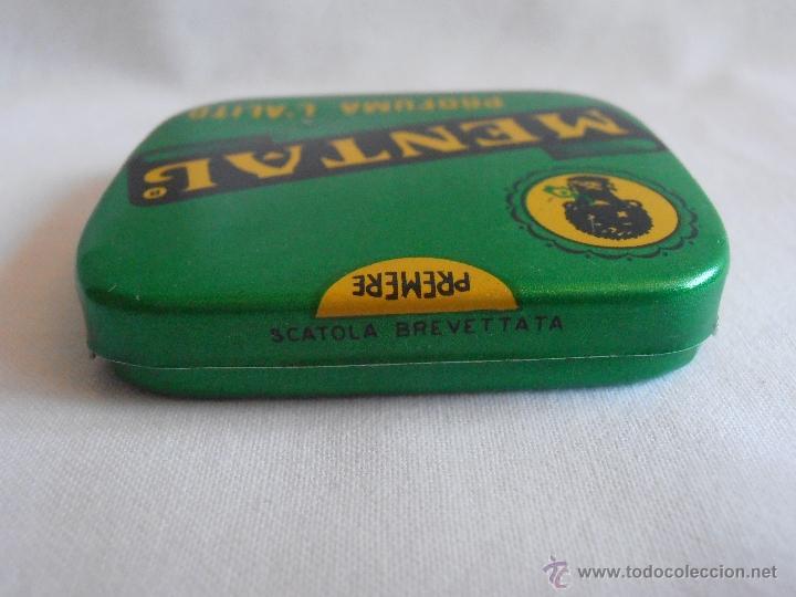Cajas y cajitas metálicas: CAJA METALICA LLENA MENTAL PASTILLAS DE MENTA ITALIA - Foto 3 - 40635627