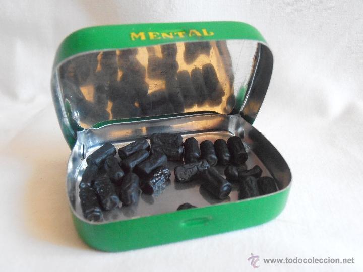 Cajas y cajitas metálicas: CAJA METALICA LLENA MENTAL PASTILLAS DE MENTA ITALIA - Foto 4 - 40635627