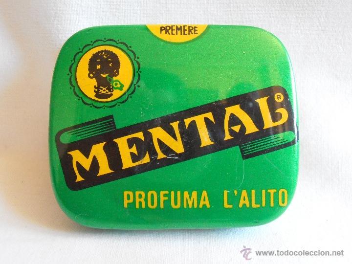 Cajas y cajitas metálicas: CAJA METALICA LLENA MENTAL PASTILLAS DE MENTA ITALIA - Foto 6 - 40635627