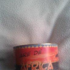 Cajas y cajitas metálicas: LATA CONTENIENDO AIRE DE AFRICA . Lote 40749429