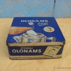 Cajas y cajitas metálicas: CAJA CHAPA OLONAMS,. Lote 40804483