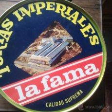 Cajas y cajitas metálicas: TURRON - JIJONA - CAJA TORTAS IMPERIALES LA FAMA - DE TURRONES GALIANA. Lote 40884702