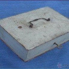 Cajas y cajitas metálicas: CAJA CAUDALES. Lote 40926559