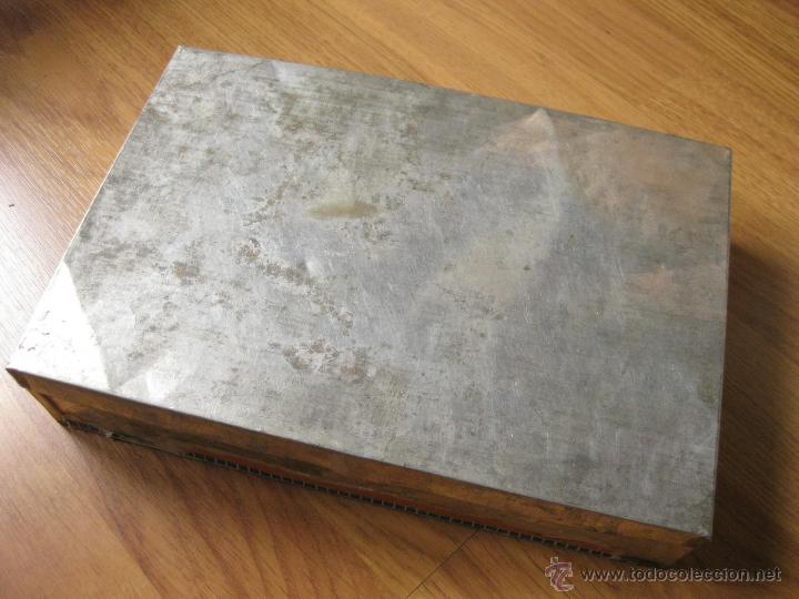 antigua caja de lata de galletas jaime callico - Comprar Cajas ... 229457ff2e7