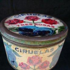 Boîtes et petites boîtes métalliques: CAJA CIRUELAS TRES ROSAS 23 CM. DIAMETRO 13,5 CM. ALTURA. Lote 41201222