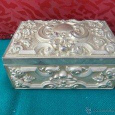 Cajas y cajitas metálicas: CAJA DE ESTAÑO. Lote 41259998