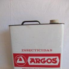 Cajas y cajitas metálicas: LATA INSECTICIDA ARGOS 5 LITROS. Lote 41263037