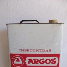 Cajas y cajitas metálicas: LATA INSECTICIDA ARGOS 5 LITROS. Lote 41263103