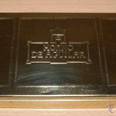 Cajas y cajitas metálicas: CAJA METÁLICA HA HORNO DE AGUILAR - MUY BUEN ESTADO, BIEN CONSERVADA. Lote 41425458