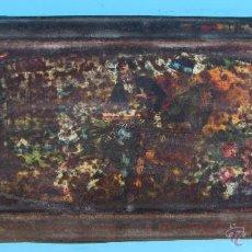 Cajas y cajitas metálicas: CAJA METÁLICA CHOCOLATE EXQUIS. LA SUISSE. A. REÑE, BARCELONA.. Lote 41457629