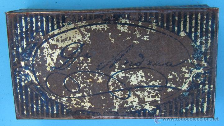 Cajas y cajitas metálicas: CAJA METÁLICA PASTA PECTORAL DEL DR. ANDREU CONTRA TODA CLASE DE TOS - Foto 2 - 41593219