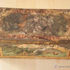 Cajas y cajitas metálicas: CAJA GALLETAS BIRBA DE HOJALATA. Lote 41729312