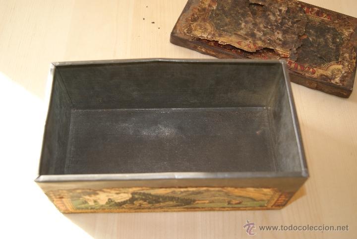 Cajas y cajitas metálicas: CAJA GALLETAS BIRBA DE HOJALATA - Foto 2 - 41729312