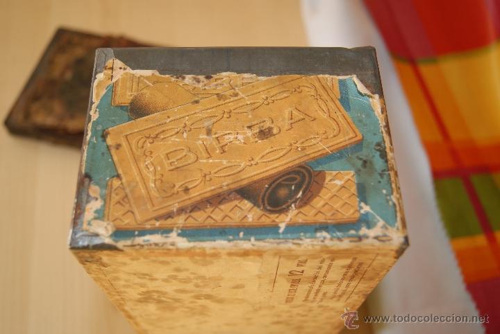 Cajas y cajitas metálicas: CAJA GALLETAS BIRBA DE HOJALATA - Foto 4 - 41729312