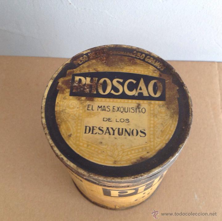 Cajas y cajitas metálicas: LATA SERIGRAFIADA DE PHOSCAO G.ANDREIS BADALONA - Foto 2 - 41875406
