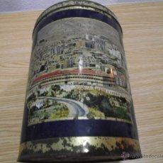 Cajas y cajitas metálicas: ANTIGUA CAJA DE TORTAS IMPERIALES EL ALMENDRO •. Lote 42059895