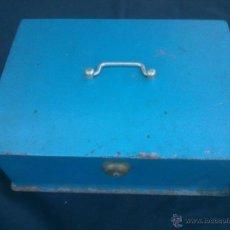 Cajas y cajitas metálicas: ANTIGUA GAN CAJA DE CAUDALES METÁLICA DE SEGURIDAD . JOMA . SIN/LLAVE. Lote 42069162