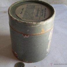 Cajas y cajitas metálicas: BOTE CARTON. Lote 42142599