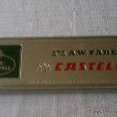 Cajas y cajitas metálicas: CAJA METALICA DE LAPICES FABER CASTELL. Lote 42459852