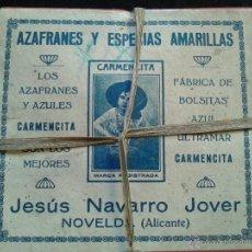 Cajas y cajitas metálicas: CAJA AZAFRAN CARMENCITA. Lote 45919536