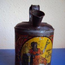 Cajas y cajitas metálicas: (ANT-401)ANTIGUA LATA DE ACEITE. Lote 42814831