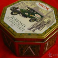 Cajas y cajitas metálicas: CAJA DE BOMBONES VALOR. Lote 42921286