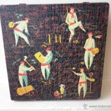 Cajas y cajitas metálicas: ANTIGUA CAJA DE LATA DE BOMBONES GOYA VITORIA. Lote 42991099