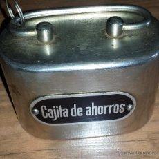 Cajas y cajitas metálicas: HUCHA CAJA DE AHORROS CAJA METÁLICA. Lote 43037940