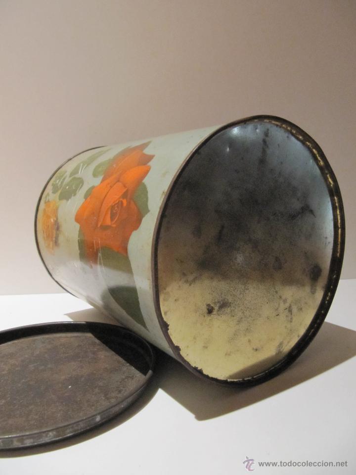 Cajas y cajitas metálicas: LATA BARQUILLOS LITOGRAFIADA G. ANDREIS BADALONA - Foto 5 - 43312432