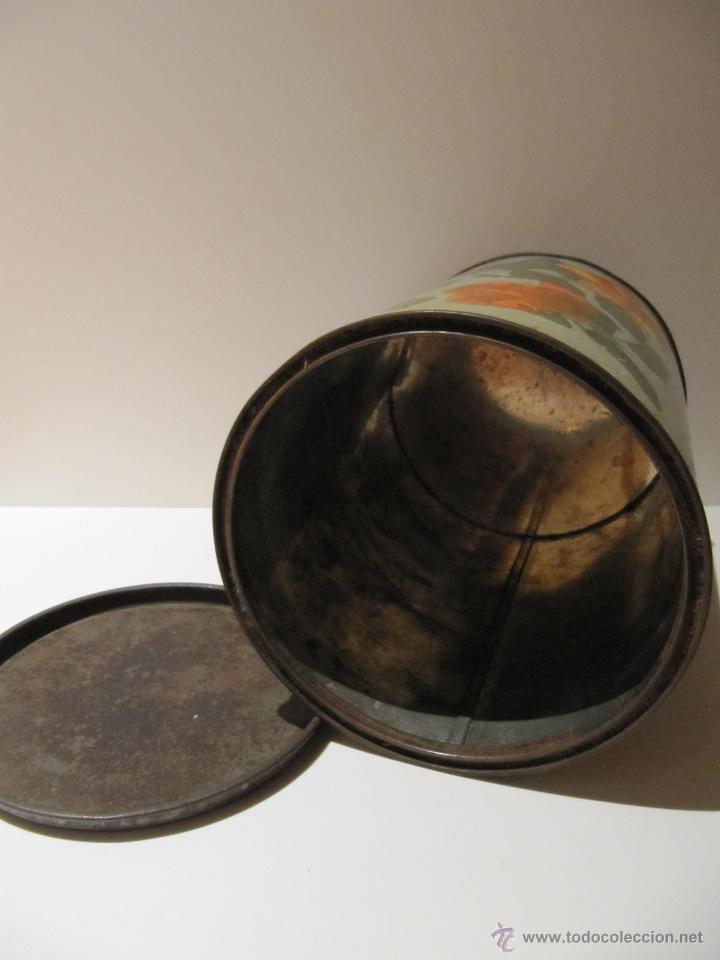 Cajas y cajitas metálicas: LATA BARQUILLOS LITOGRAFIADA G. ANDREIS BADALONA - Foto 6 - 43312432