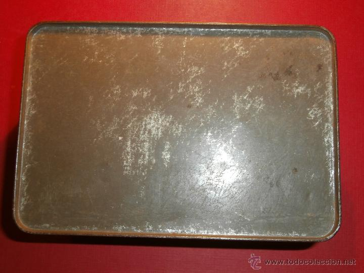 Cajas y cajitas metálicas: Muy antigua caja metálica - Diversos deportes, tenis, waterpolo - Sky - Sin determinar - Foto 6 - 54698941