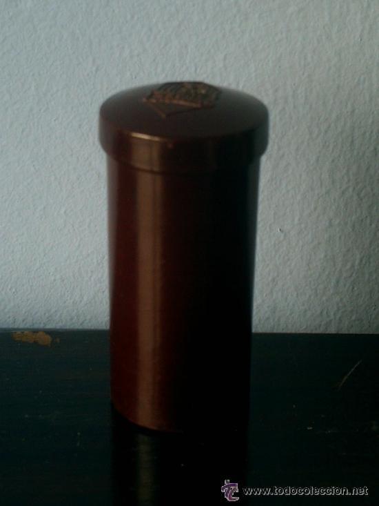 Cajas y cajitas metálicas: CAJA DE BAQUELITA PARA MEDICAMENTO LABORATORIO LAUBER - Foto 2 - 43646313