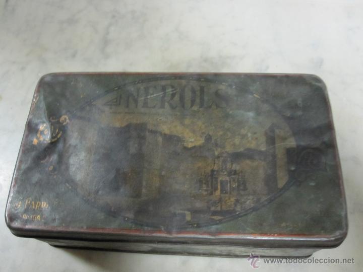 VIEJA CAJA METALICA (Coleccionismo - Cajas y Cajitas Metálicas)