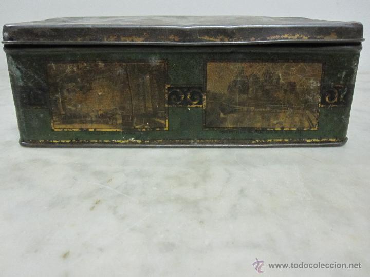 Cajas y cajitas metálicas: VIEJA CAJA METALICA - Foto 2 - 161860376