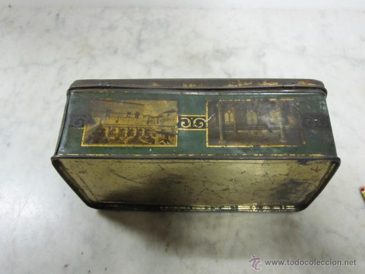 Cajas y cajitas metálicas: VIEJA CAJA METALICA - Foto 3 - 161860376