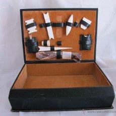 Cajas y cajitas metálicas: COSTURERO VINTAGE CON HERRAMIENTAS. Lote 44142652