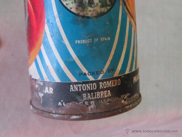 Cajas y cajitas metálicas: BOTE METALICO - MAMUT - ANTONIO ROMERO BALIBREA - MURCIA - Foto 2 - 44217899