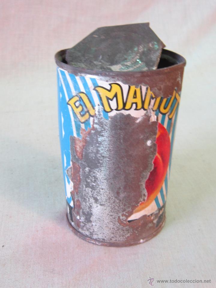 Cajas y cajitas metálicas: BOTE METALICO - MAMUT - ANTONIO ROMERO BALIBREA - MURCIA - Foto 5 - 44217899