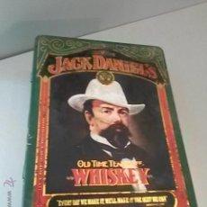 Cajas y cajitas metálicas: CAJA DE LATA JACK DANIEL'S 27 X 20 X 10 CM.. Lote 44221357