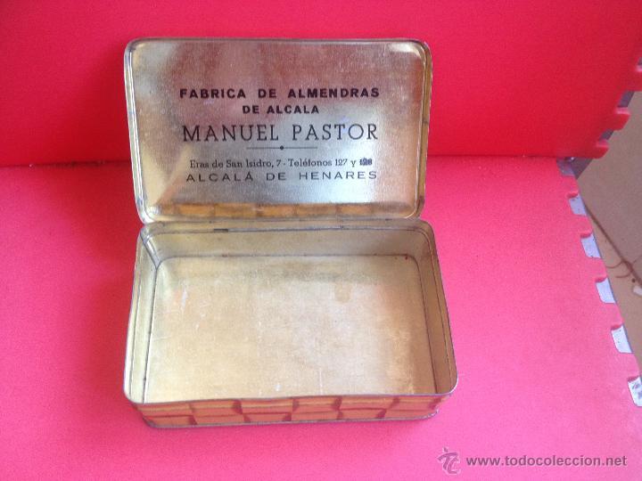 Cajas y cajitas metálicas: FABRICA DE ALMENDRAS DE ALCALA DE HENARES MANUEL PASTOR - Foto 2 - 44283204