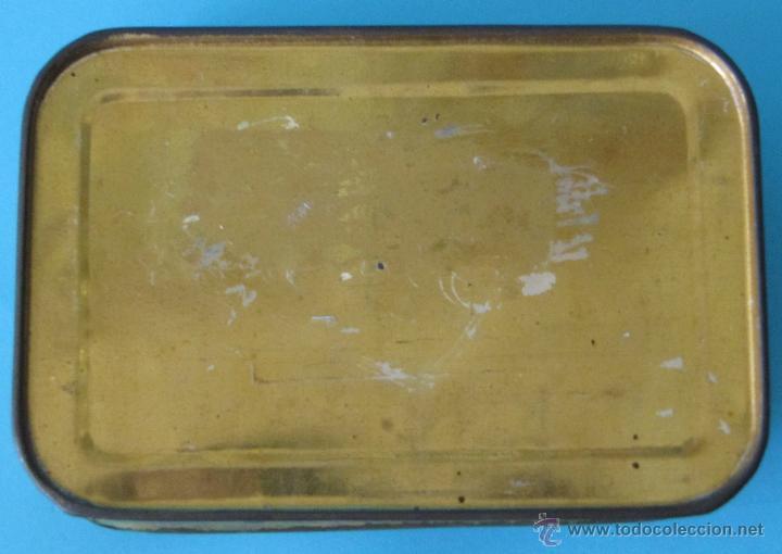 Cajas y cajitas metálicas: GALLETAS BIRBA. COMPRODON. CAJA DE LATA LITOGRAFIADA - Foto 4 - 44357145