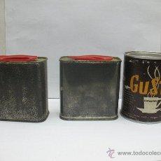 Cajas y cajitas metálicas: LOTE DE 3 LATAS ANTIGUAS PARA DECORAR. Lote 44624748