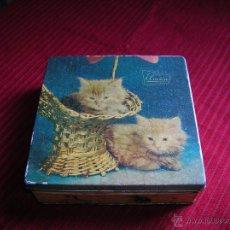 Cajas y cajitas metálicas: BONITA LATA DE CARAMELOS EL AVIÓN. Lote 44876920