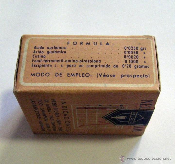 Antigua caja de cart n medicamento farmacia neu comprar for Cajas de carton madrid