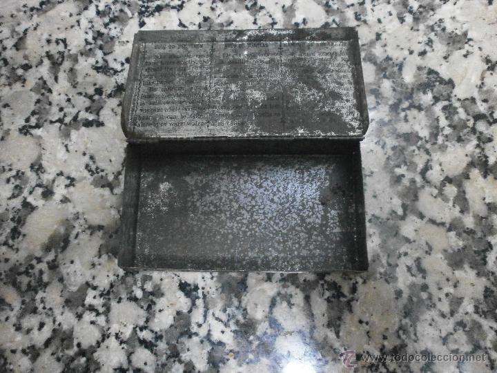 Cajas y cajitas metálicas: ANTIGUA CAJA PASTA PECTORAL INFALIBLE DR. ANDREU - Foto 2 - 45028421