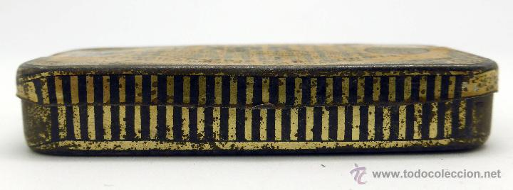 Cajas y cajitas metálicas: Caja farmacia medicina Pasta pectoral tos Dr Andreu Barcelona - Foto 2 - 45262299