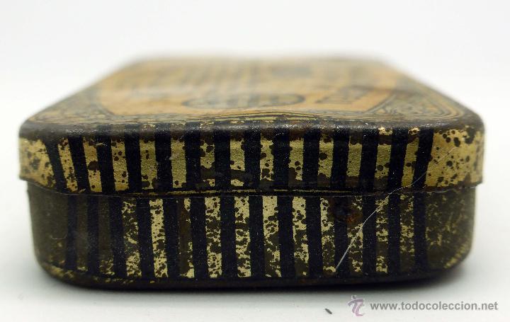 Cajas y cajitas metálicas: Caja farmacia medicina Pasta pectoral tos Dr Andreu Barcelona - Foto 3 - 45262299