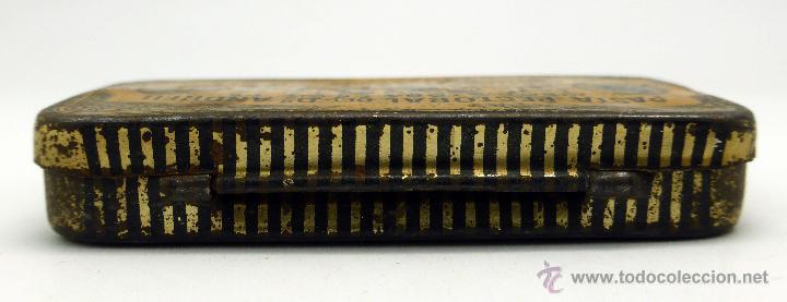 Cajas y cajitas metálicas: Caja farmacia medicina Pasta pectoral tos Dr Andreu Barcelona - Foto 4 - 45262299